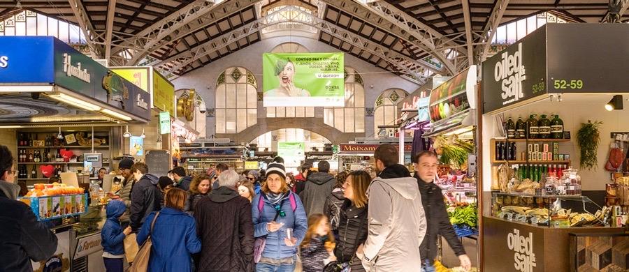 Shoppa i Valencia